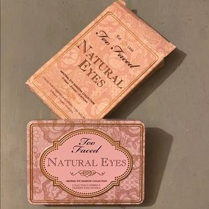 "Too Faced 💜""Natural Eyes"" Eye Shadow Palette"